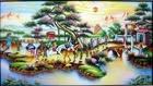 Tranh theu chu thap, tranh da quy, tranh dong: Vinh quy bái tổ.