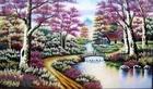 Tranh theu chu thap, tranh da quy, tranh dong: Ngôi nhà trong rừng