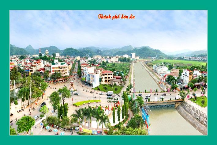 Tranh theu chu thap, tranh da quy, tranh dong: Thành phố Sơn La